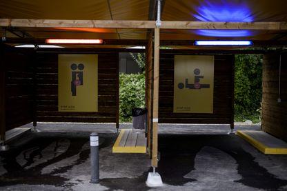 """Il y a cinq ans, des """"sexboxes"""" étaient créées à Zurich, en Suisse, pour protéger les prostituées et de lutter contre la traite d'êtres humains, dans un pays où la prostitution est légale."""