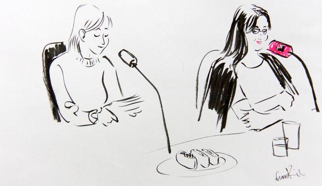 Elvira Masson et Chihiro Masui