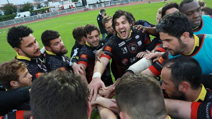 Le Rouen Normandie Rugby est le favori pour monter en Pro D2