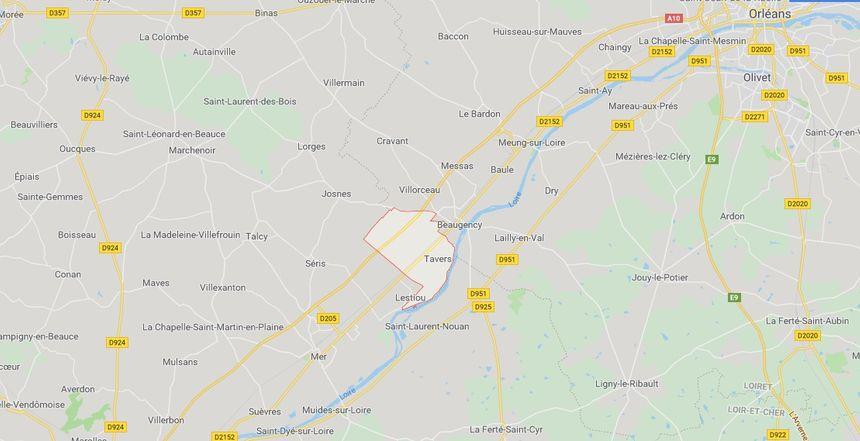 Tavers, entre Meung-sur-Loire et Beaugency