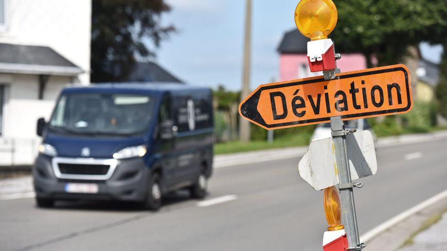 Deux déviations sont mises en place autour du carrefour de la Seiglière à Aubusson.