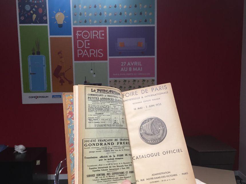 Foire de Paris, catalogue 1935