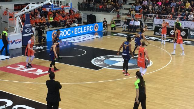 Les joueuses du Tangos Bourges Basket se sont inclinées chez elles lors de la 1/2 finale aller face à Lattes Montpellier