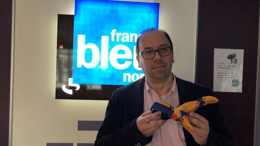 Matthieu Tourbier, membre de l'association E-Nable