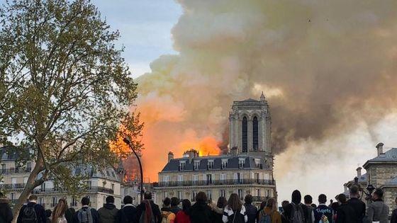 Incendie de Notre-Dame de Paris, le 15 avril 2019