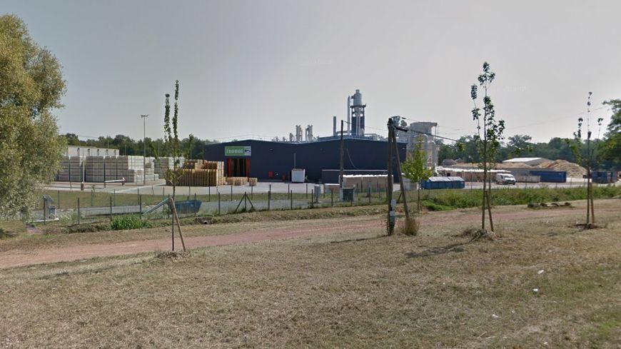 L'entreprise Isonat située à Mably (capture d'écran)