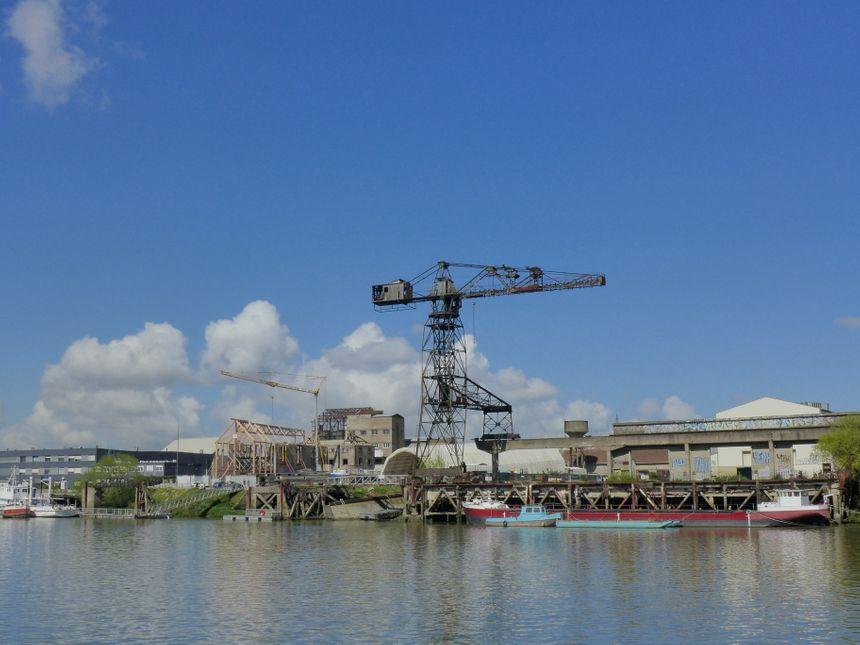 En 2020, une nouveau Navibus reliera l'île de Nantes au Bas-Chantenay