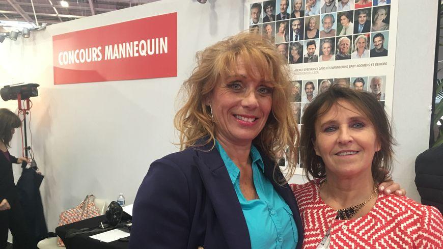 Sandra et Nadège ont tenté leur chance au concours de mannequinat.