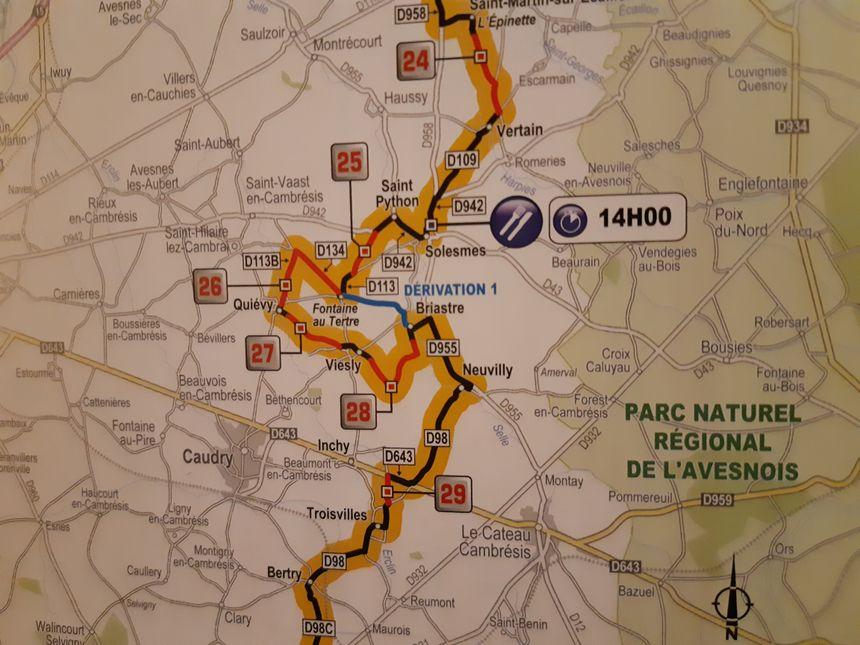 Petit changement dès les premiers secteurs pavés de ce Paris-Roubaix 2019