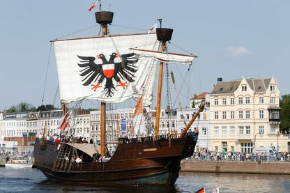 "Parade maritime lors du ""Hansa Day"" 2014 à Lübeck"
