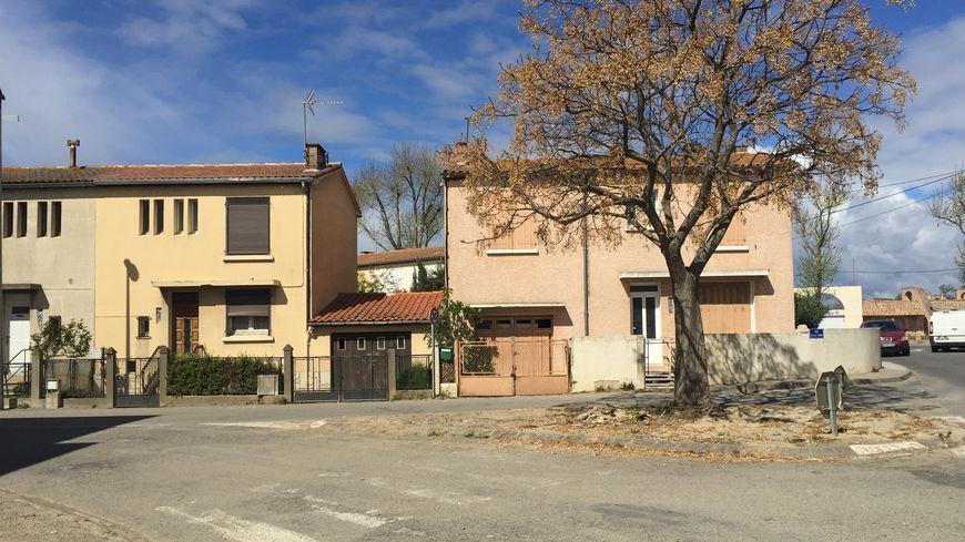 Le quartier de l'Aiguille à Trèbes (Aude) a été le plus touché dans la nuit du 15 au 16 octobre 2018