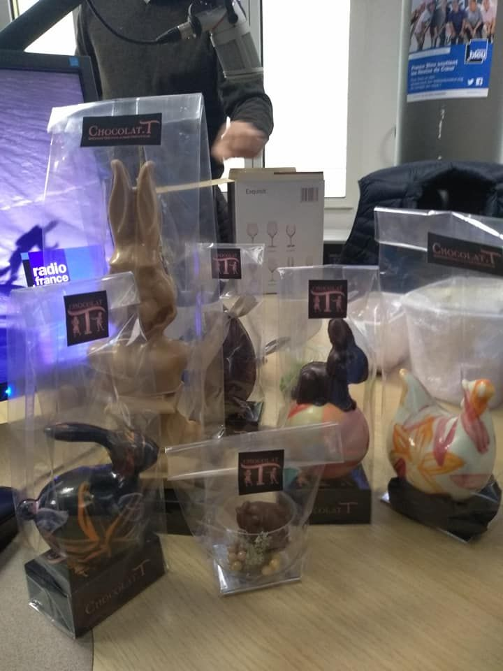 Invasion de chocolat dans les Toqués.