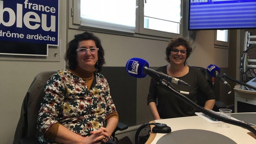 Anne Dejour et Anne Rollin de la Sauvegarde de l'Enfance et de l'Adolescence de la Drôme