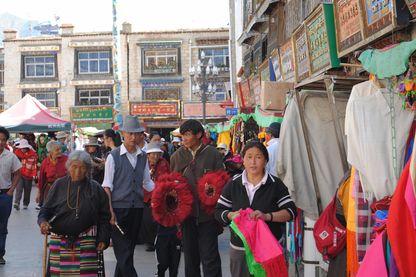 Partager la vie quotidienne des tibétains à Lhasa