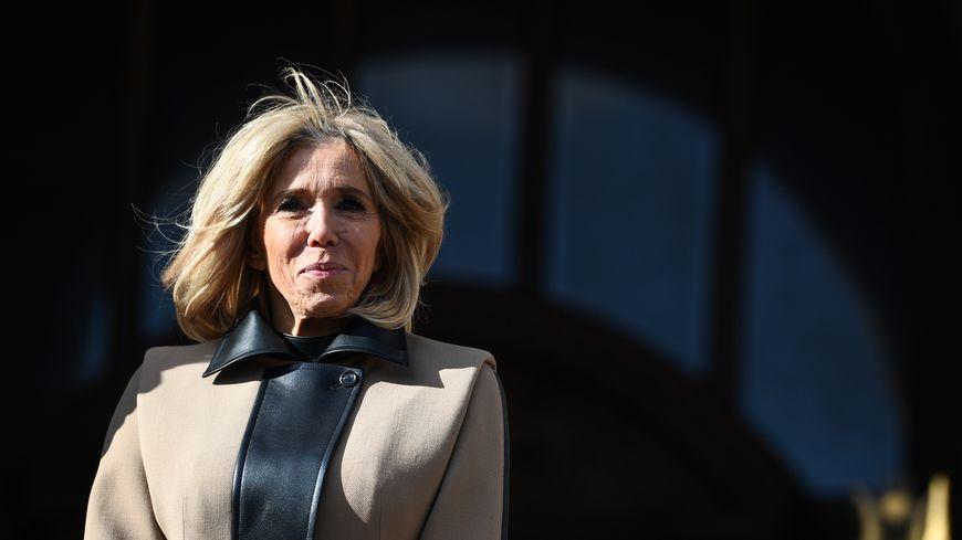 Brigitte Macron.