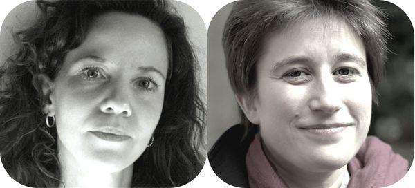 Hélène Collerette et Anne Le Bozec