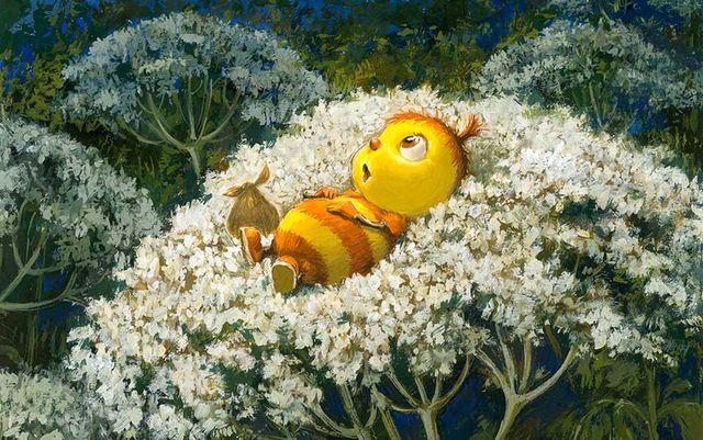 Capucine la coquine d'Antoon Krings dans l'exposition au Musée des arts décoratifs