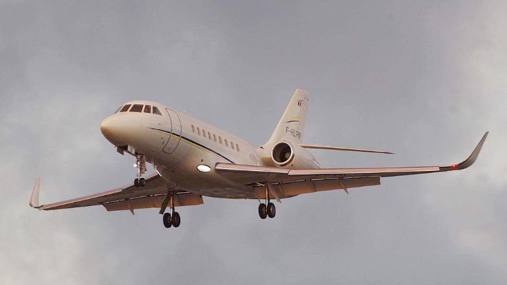 Un avion de la compagnie Michelin Air Services