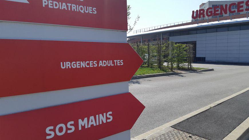 La petite fille a été transportée en hélicoptère à l'hôpital d'Amiens.