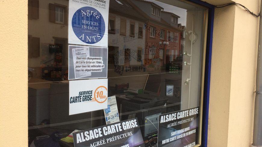 La boutique Alsace Carte Grise