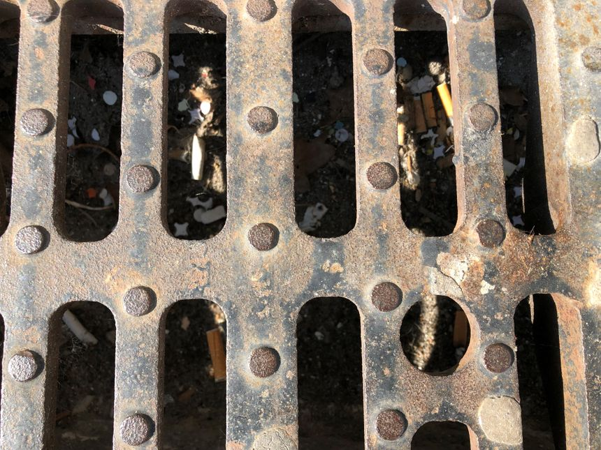 Parmi les déchets récurrents on trouve les mégots