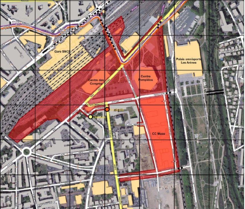 Toute une partie du quartier de l'Amphithéâtre sera interdite d'accès sans accréditation