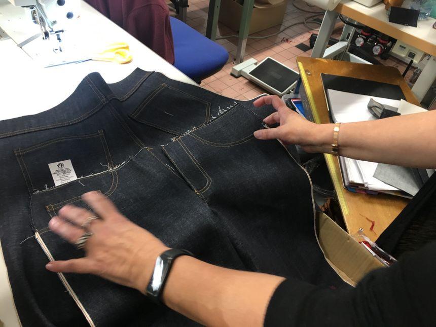 """Le tissu est plus épais qu'un jean """"traditionnel"""""""