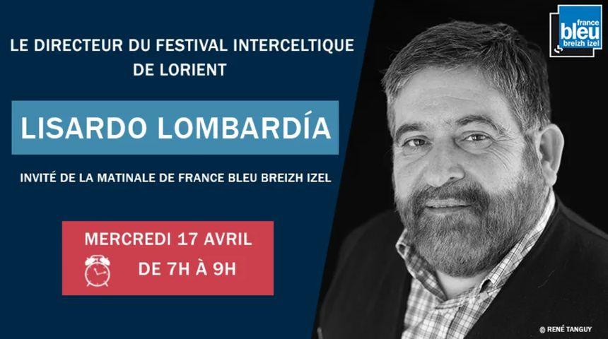 Lisardo Lombaria invité de France Bleu Breizh Izel