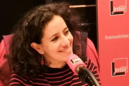 """Leyla Bouzid au micro de """"Babel-sur-Seine"""" de Giulia Foïs"""