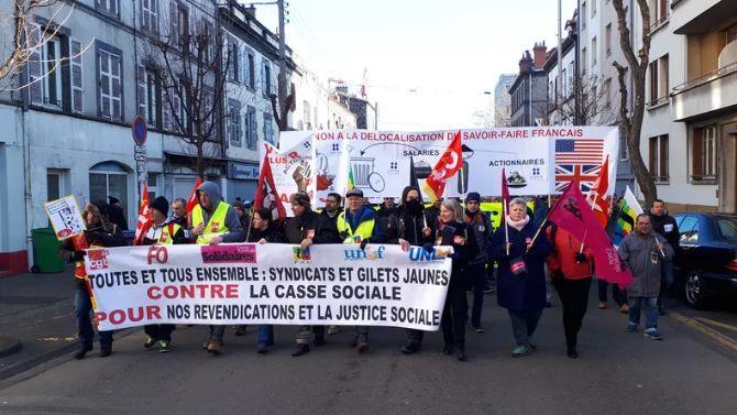 Entre 2300 et 4000 personnes avaient manifesté le 5 février dernier à Clermont-Ferrand