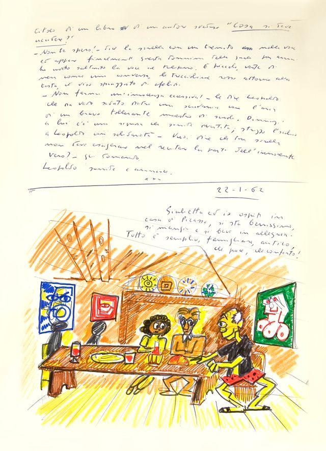 Federico Fellini. Rêve du 22 janvier 1962. Le Livre de mes rêves, volume I