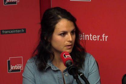 """Karine Lévy-Heidmann, organisatrice de la première """"Cancer pride"""" dans le studio de France."""