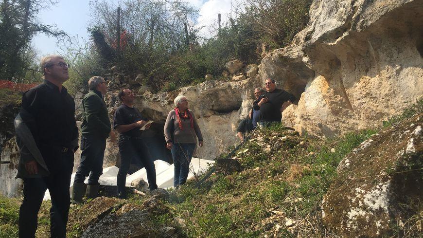 La grotte de Jovelle comporte de nombreuses gravures de mammouth notamment