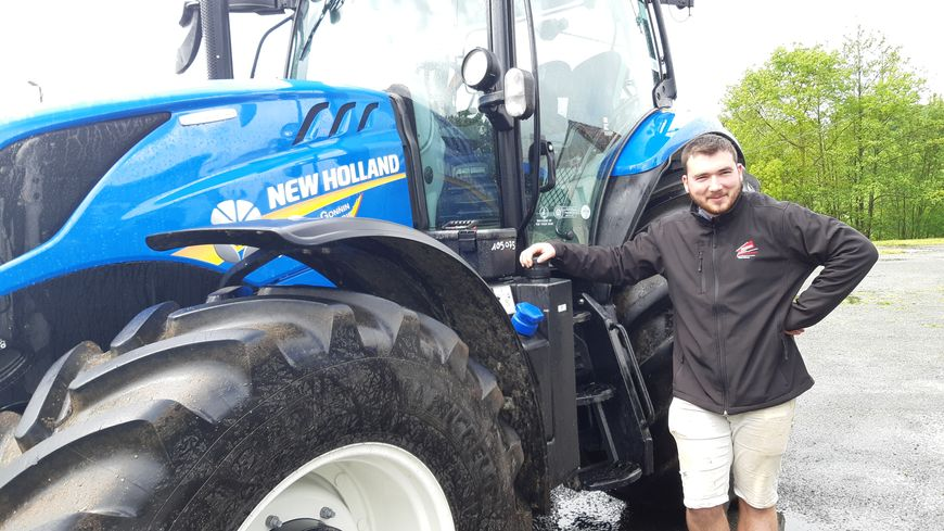 Ce sont les jeunes agriculteurs qui proposent ces baptêmes en tracteur