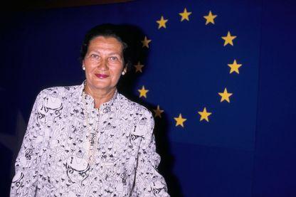 Simone Veil fut la première femme présidente du Parlement européen en 1979