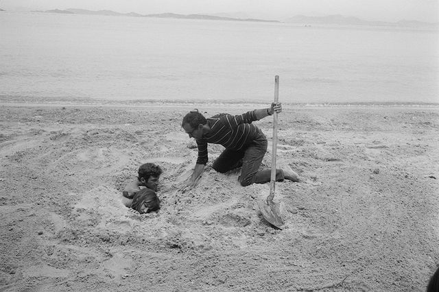 Anna Karina, Jean-Paul Belmondo et Jean-Luc Godard sur le tournage de Pierrot le fou