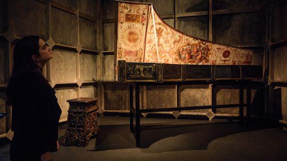 Un clavecin datant de 1574
