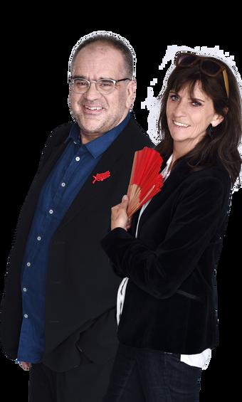 Laurent Delmas et Christine Masson