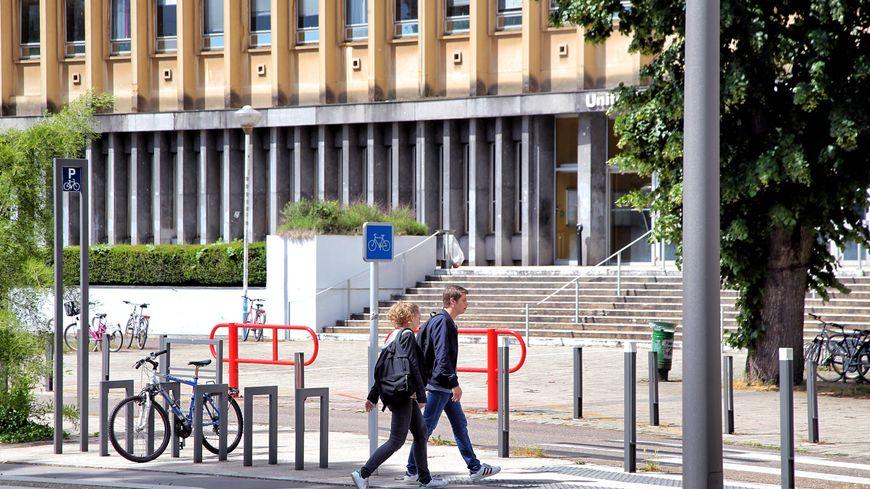 L'UFR Sciences humaines et sociales du campus du Saulcy à Metz