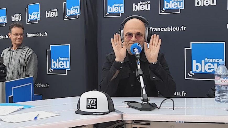 Pascal Obispo au France Bleu Live Festival des 2 Alpes