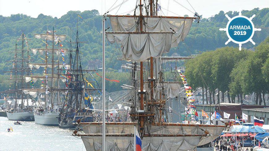 La circulation et le stationnement aux abords de l'Armada seront très réglementés.