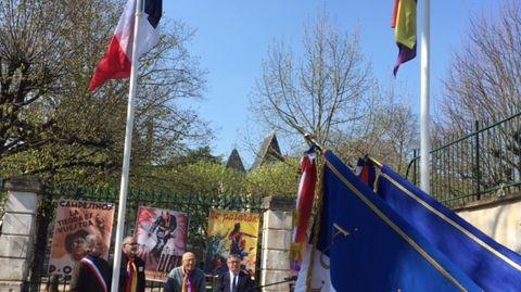 Hommage aux républicains espagnols à Auxerre