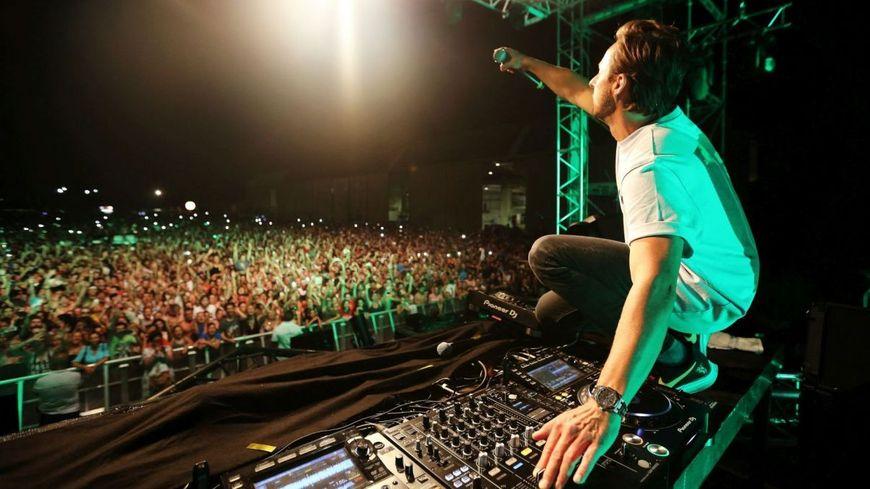 Le DJ Martin Solveig en concert