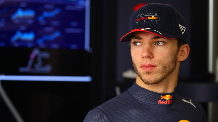 Pierre Gasly, toujours en phase d'adaptation chez Red Bull