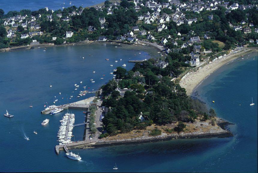 L'île-aux-Moines dans le Golfe du Morbihan.