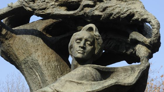 Scultpture de Chopin par Waclaw Szymanowski (Varsovie)