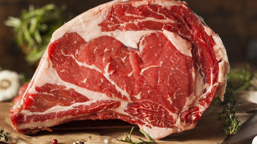 Viande de bœuf persillée de race Limousin