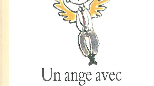 Un ange avec des baskets de Moka edditions Ecole des loisirs