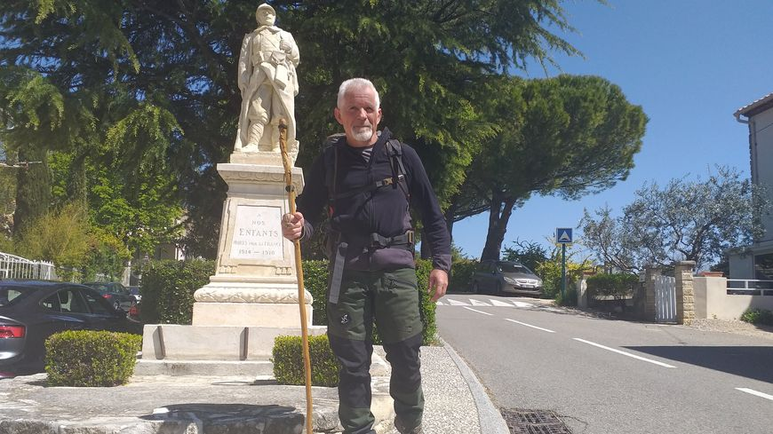 Jean-Claude Gleize se donne 54 jours pour rejoindre les plages du Débarquement depuis le Vaucluse.