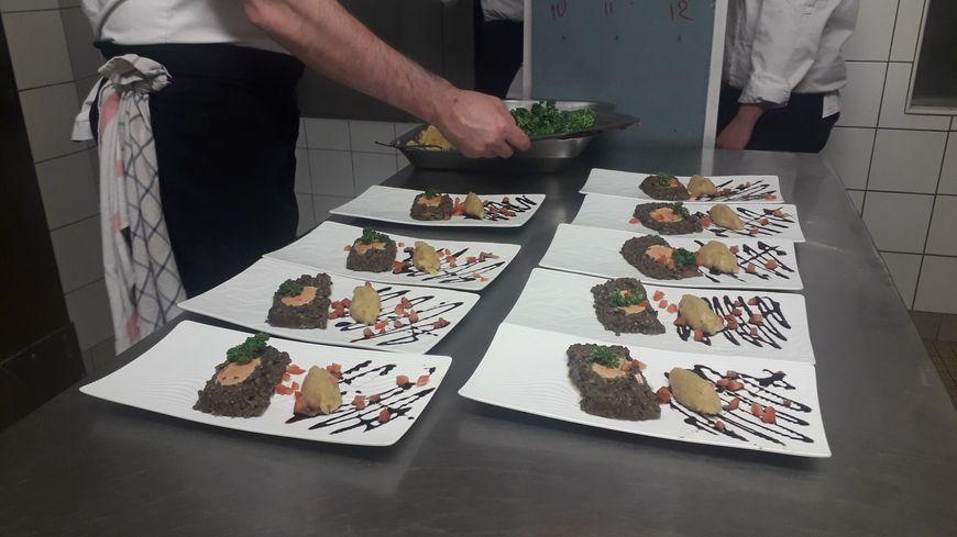 Les élèves du CFA des métiers de Châteauroux ont préparé tout un repas